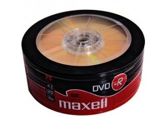 Maxell DVD-R 4,7GB 16x 25SH 275731