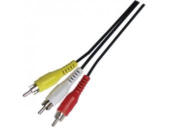 Sencor SAV 107-015 3xRCA M - 3xRCA M P AV kábel