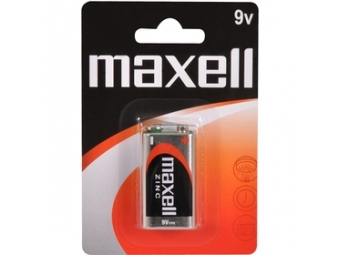 Maxell 6F22 9V BP batéria (1KS)