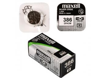 Maxell SR 43W / 386 HD WATCH batéria