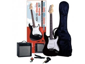 ABX Guitars 10 set Sada elektrickej gitary a gitarového komba
