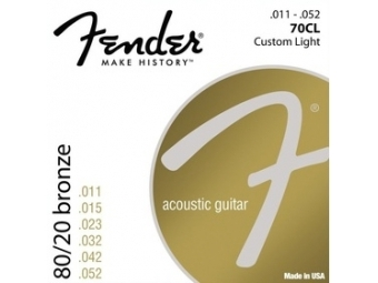 Fender 073-0070-405 70CL .011-.052 struny