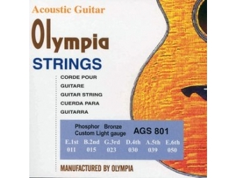 Olympia AGS 801 AKUSTICKÉ STRUNY PHBR 11
