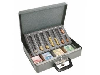 Wedo Euro-pokladnička Universa eco sivá
