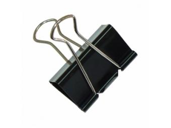 Q-Connect Klipy na dokumenty 24mm čierne (bal=10ks)