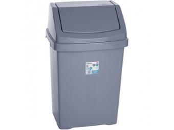 Wham 11755 kôš odpadkový 50l strieborný