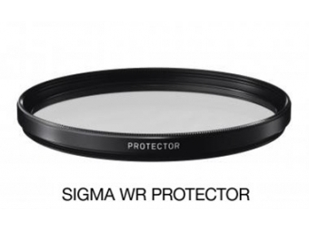 Sigma filter PROTECTOR 49 mm WR, ochranný filter základý vodeodpudivý