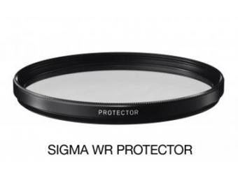 Sigma filter PROTECTOR 52 mm WR, ochranný filter základný vodeodpudivý