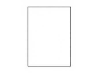 AGIPA Etikety A4 InkJet samolepiace priehľadné matné (bal=20hár)