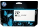 HP No.727 Atramentová kazeta Matte Black 130ml (B3P22A)
