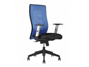Kreslo kancelárske CALYPSO GRAND modré