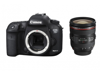 Canon EOS 7D Mark II + EF 24-70mm f/4L IS USM -100€ SPÄŤ