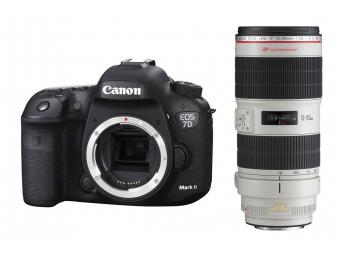 Canon EOS 7D Mark II + EF 70-200mm f/2.8L IS II USM -125€ SPÄŤ