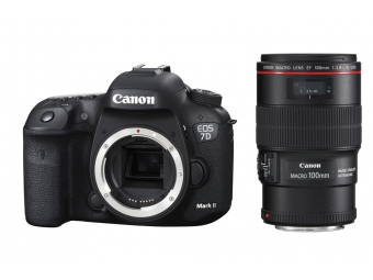 Canon EOS 7D Mark II + EF 100mm f/2.8L IS USM Macro -70€ SPÄŤ