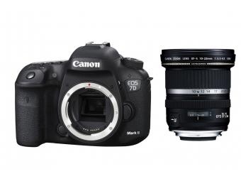 Canon EOS 7D Mark II + EF-S 10-22mm f/3,5-4,5 USM -80€ SPÄŤ