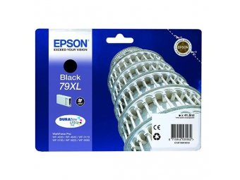 Epson T7901 Atramentová náplň Black 79XL