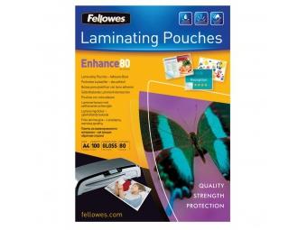 Fellowes Laminovacia fólia A4/80mic lepiaca (bal=100ks)