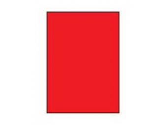 AGIPA Etikety univerzálne A4 fluorescančné červené (bal=100ks)