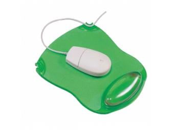Q-Connect Podložka pod myš a zápästie gelová zelená