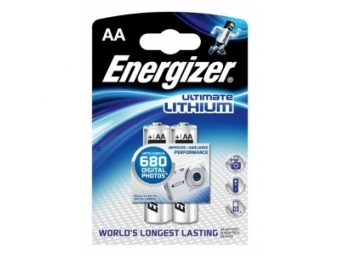 Energizer batérie Eveready Lithium FR6/2 (bal=2ks)
