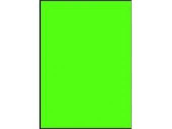 AGIPA Etikety univerzálne A4 fluorescančné zelené (bal=100ks)