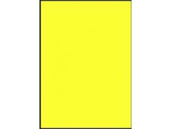 AGIPA Etikety univerzálne A4 fluorescenčné žlté (bal=100)