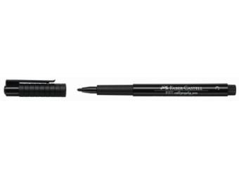 Faber-Castell PITT pero kaligrafické,čierne