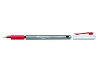 Faber-Castell SPEEDX 0,5mm guličkové pero červené
