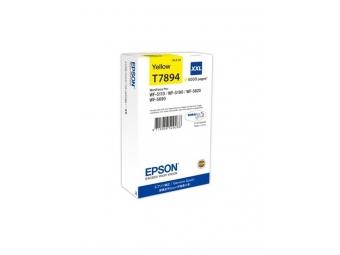 Epson T7894 Atramentová náplň Yellow XXL