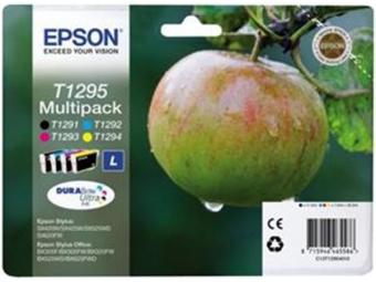 Epson T1295 Atramentová náplň Multipack, C/M/Y/K