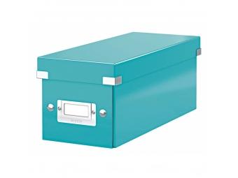 Esselte Archívna škatula na CD Click-Store so sklápacím vekom ľadovo modrá
