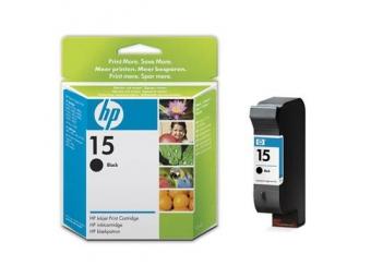 HP No.15 Atramentová kazeta Black (C6615D)