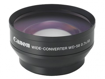 Canon Širokouhlý konvertor WD-58H 0,7x (pre XM)