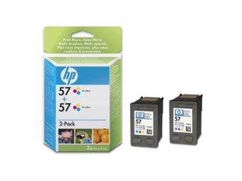 HP No.57 Atramentová kazeta Color (C6657A), 2ks