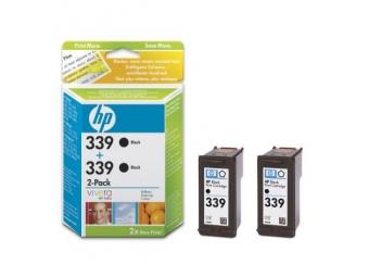 HP No.339 Atramentová kazeta Black, 2ks (C8767EE)