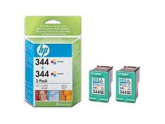 HP No.344 Atramentová kazeta Color, 2ks (C9363E)