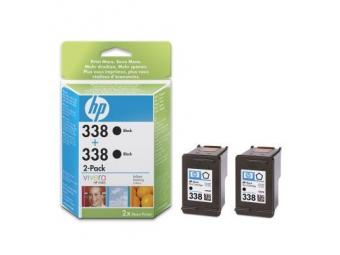 HP No.338 Atramentová kazeta Black, 2ks v balení