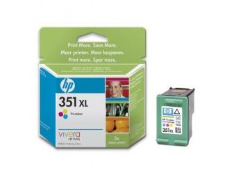 HP No.351XL Atramentová kazeta Color (CB338E)