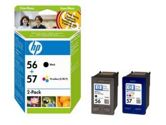 HP No.56+No.57 Atramentová kazeta Black+Color (SA342AE)