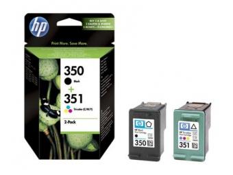 HP No.350+No.351 Atramentová kazeta Black+Color (SD412E)