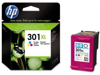 HP No.301XL Atramentová kazeta Color (CH564E)