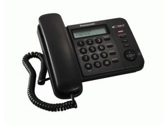 Panasonic KX-TS560FXB Telefón, čierna