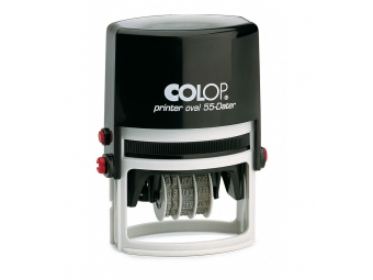 Colop Printer Ovál 55 Dater samonamáčacia pečiatka komplet