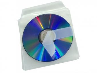 Bantex 2078 Obal na 1 ks CD samolepiaci s chlopňou (bal=25ks)