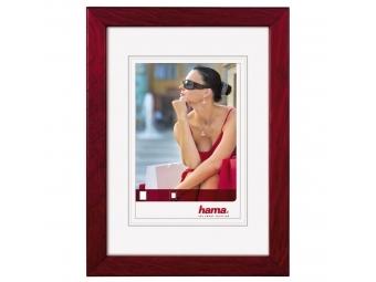Hama 100627 Guilia rámček drevený, burgund, 13x18 cm