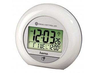 Hama 104959 RC 600 Radio-Controlled Alarm Clock