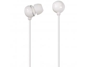 Hama 106321 slúchadlá s mikrofónom Music Control, štuple, regulácia hlasitosti, biele