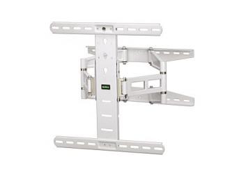 Hama 108758 nástenný držiak TV, pohyblivý, 400x400, 5*, biely