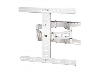Hama 108759 nástenný držiak TV, pohyblivý, 700x500, 5*, biely