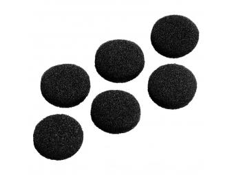 Hama 122682 náhradné polstre pre slúchadlá, 19 mm, 6 ks